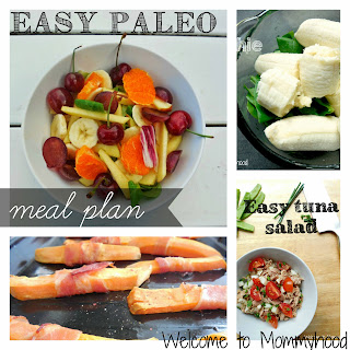 Paleo Meal plan by Welcome to Mommyhood #paleo #paleomealplan