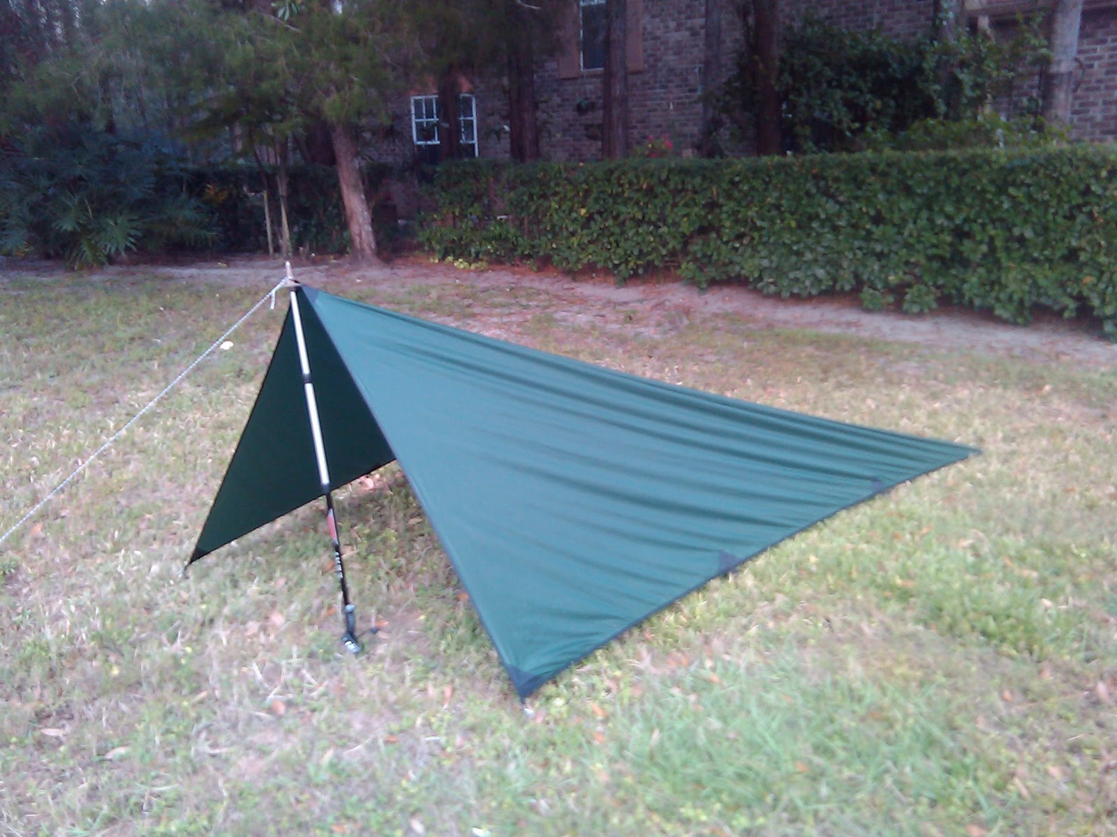 Iu0027ve also decided to ditch my tent. After reading everything I can find about them I made up my mind on an 8x10 Outdoor Equipment Supplier silnylon tarp. ... & A Logistical Nightmare - My Appalachian Trail Prep.: November 2011