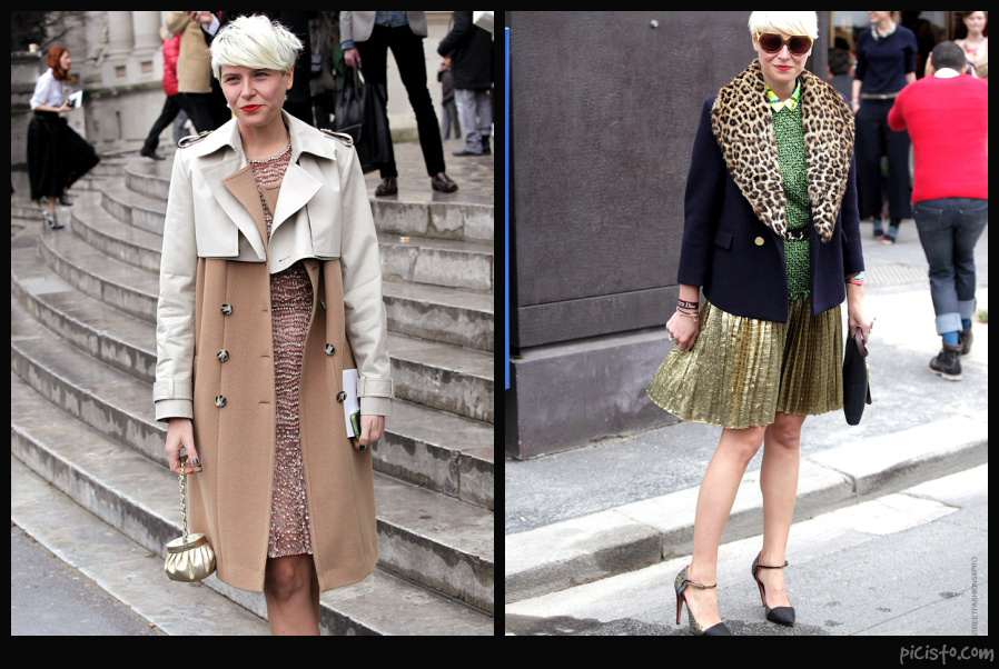 Elisa Nalin Wearing Chanel
