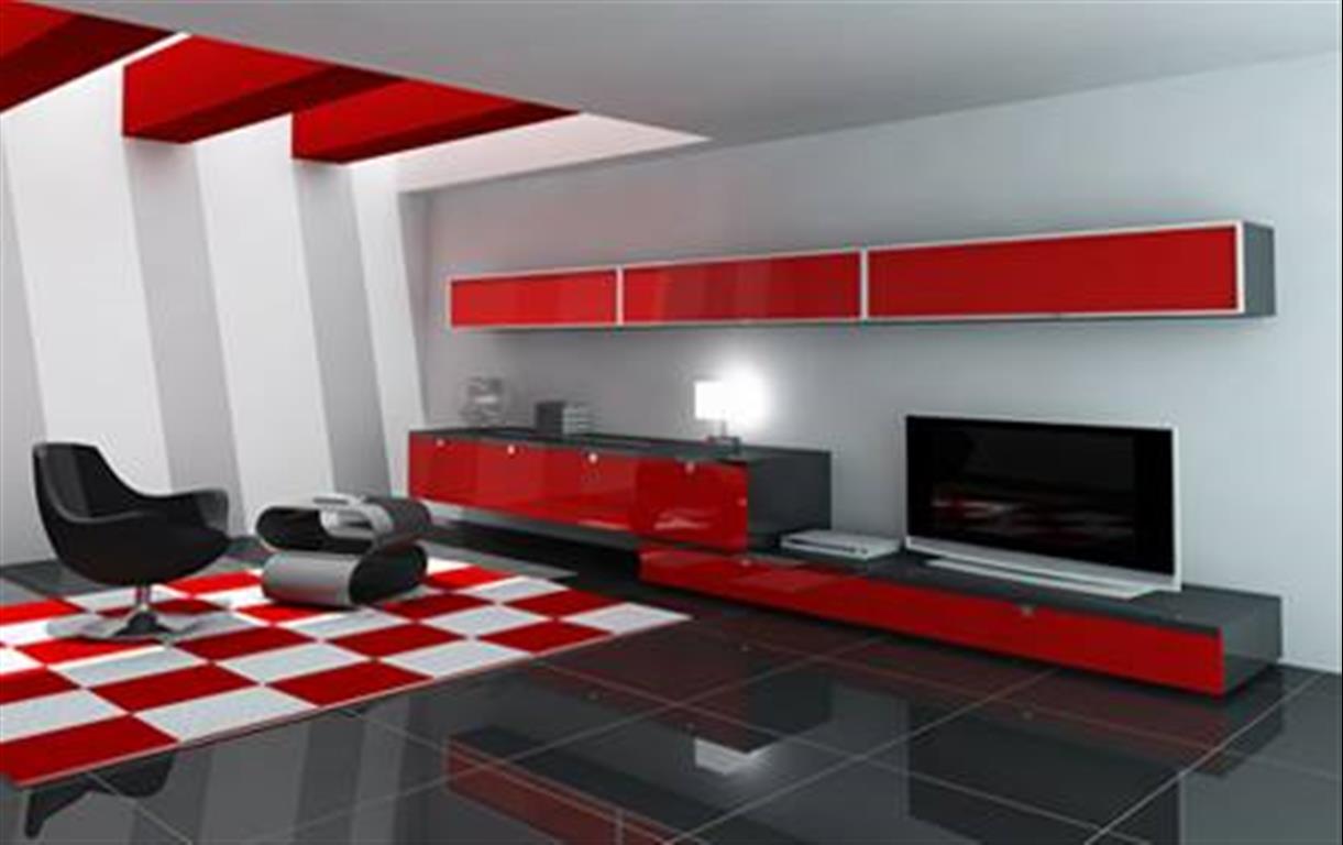 Modern Furniture Red modern furniture design