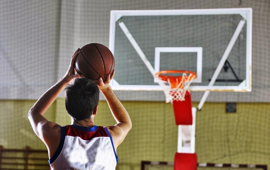Shoot basketball