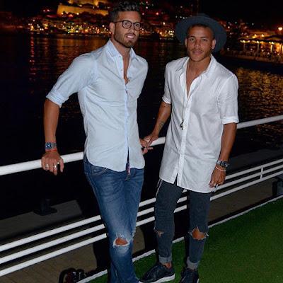 romances entre los jugadores del Villarreal Jonathan Dos Santos y Mateo Musacchio