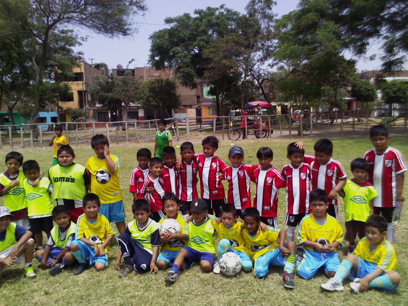 Amistoso con la Escuela River Plate