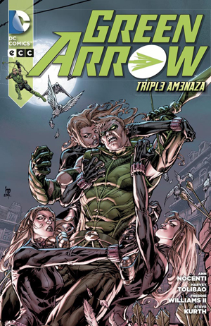Green Arrow - Triple Amenaza
