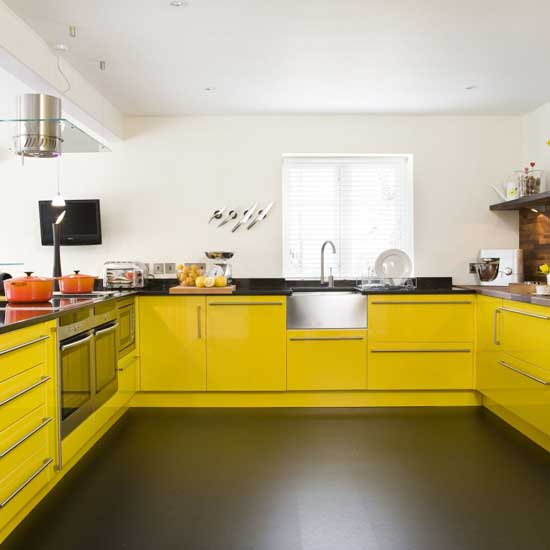Kitchen Set Minimalist: Coloring Of The Kitchen Sets