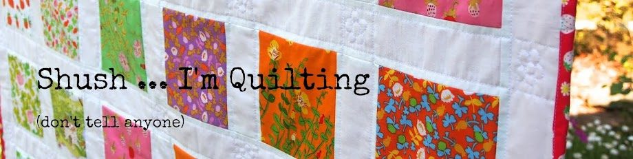 Shush I'm Quilting