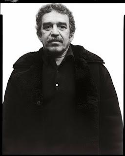 Gabriel García Márquez por Richard Avedon