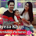 Ayeza Khan Celebrate Her Birthday With Husband And Sweet Baby