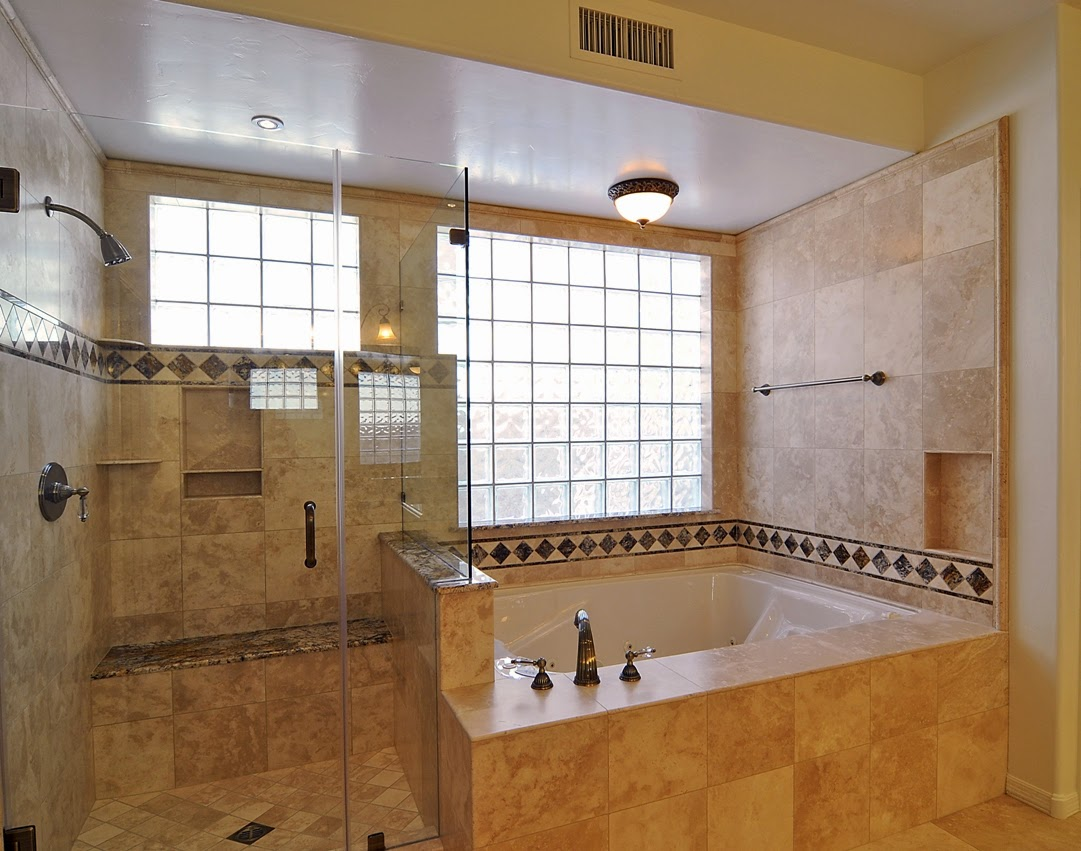 Bathroom remodeling contractors tile showers tubs and floors for Custom bathrooms