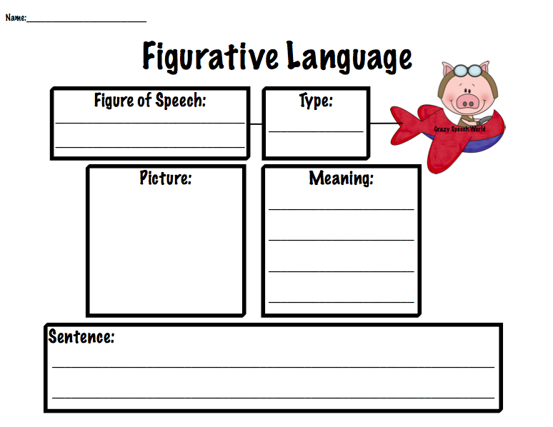 Gals Talk ...about speech therapy: Figurative Language Fun