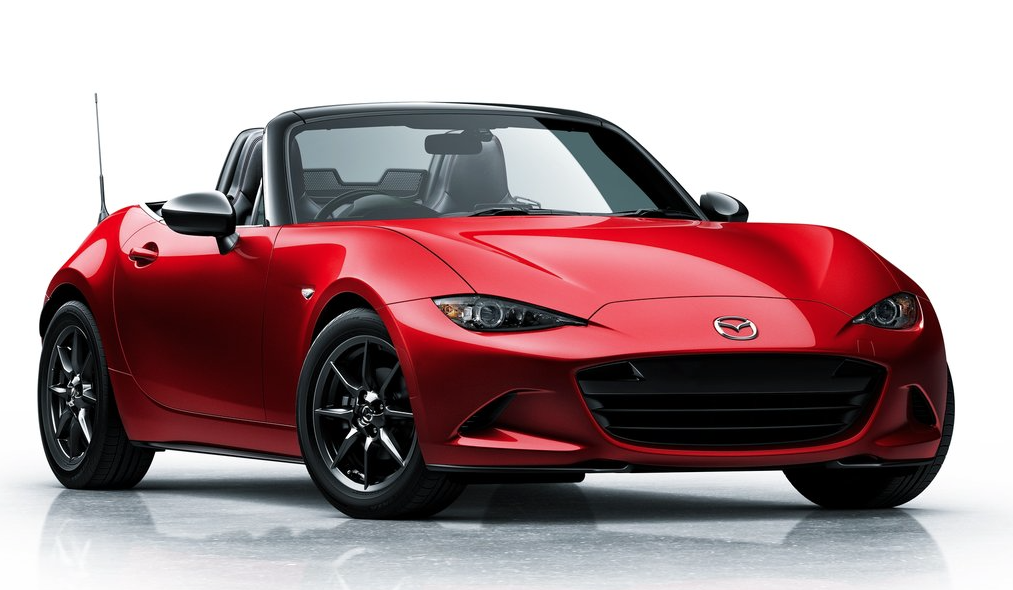 2016 Mazda MX-5 Miata red