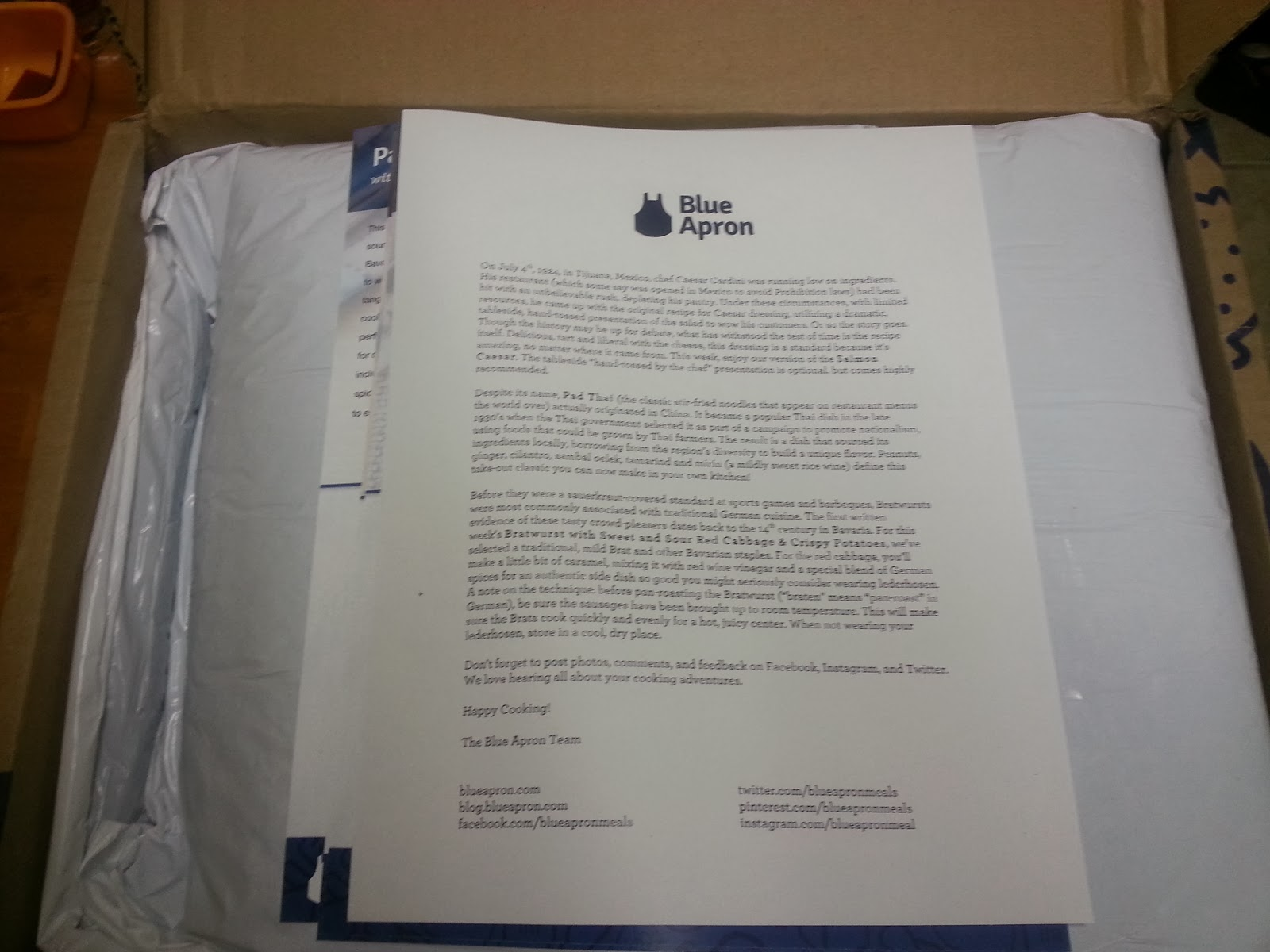 Blue apron kansas city