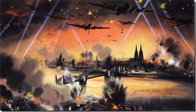Night bombing of Cologne
