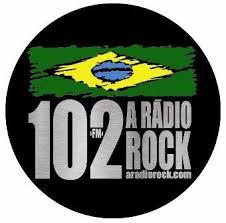 ouvir a Rádio 102 A Rádio Rock FM 102,1 São Vicente SP