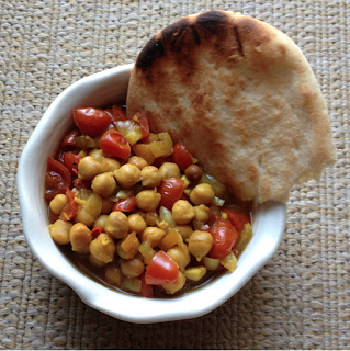 Slow Cooker Indian Spiced Chickpea Stew
