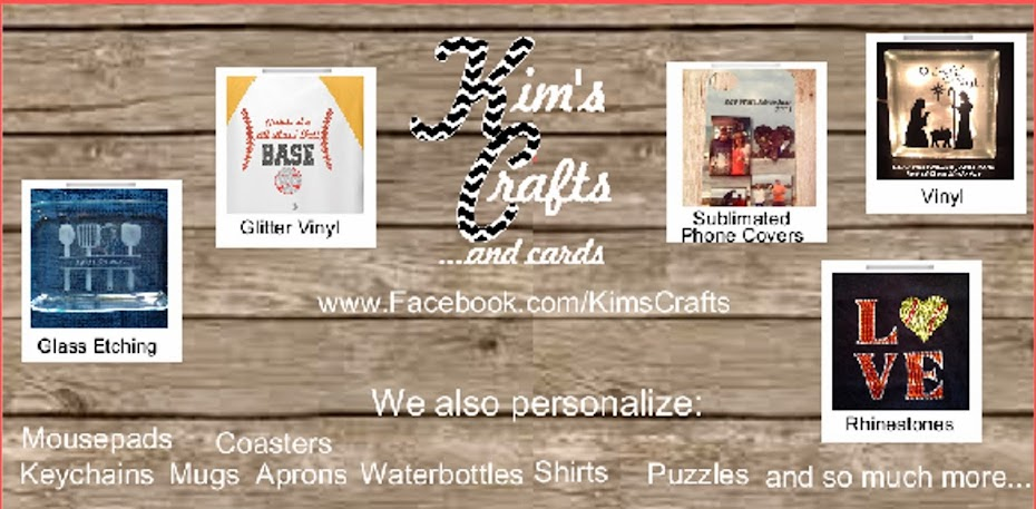 Kim's Crafts and cards