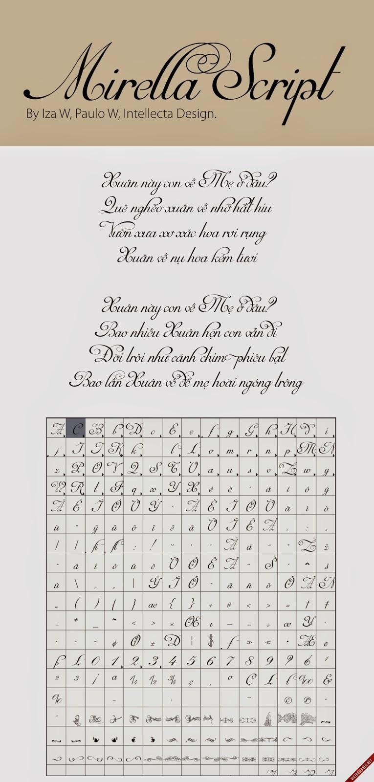 [Script] Mirella Script Việt hóa