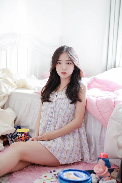 2 Cutie Haneul OnOff - very cute asian girl-girlcute4u.blogspot.com
