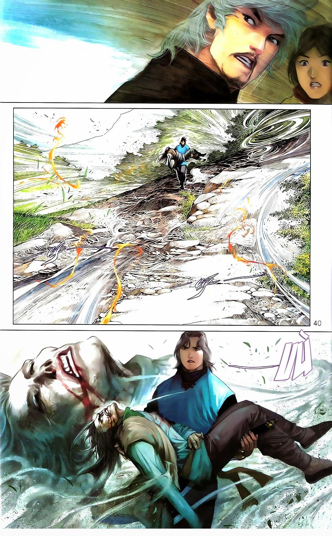 Phong Vân chap 670 Trang 39 - Mangak.info