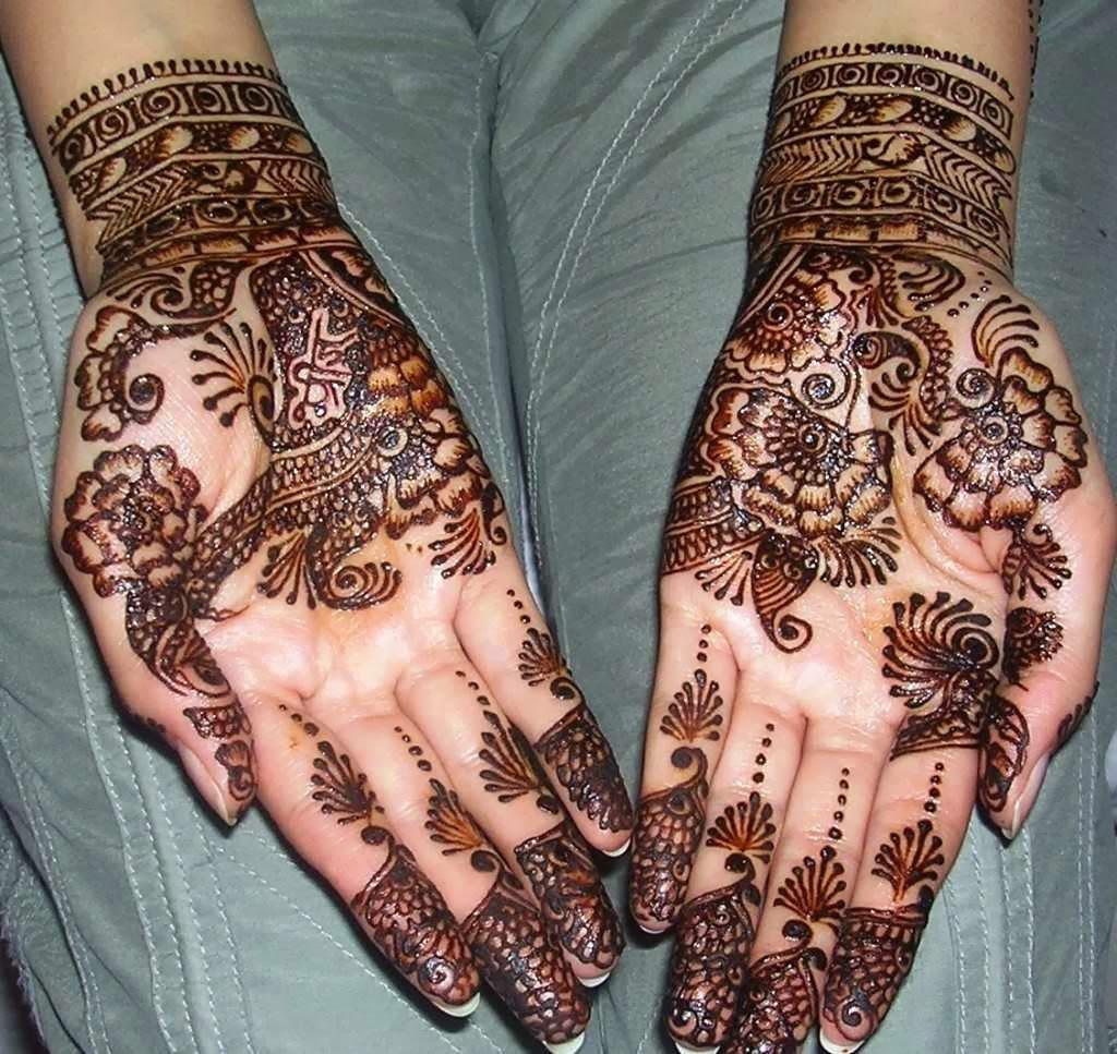 Mehndi Designs On Hand : Mehandi designs for front hands