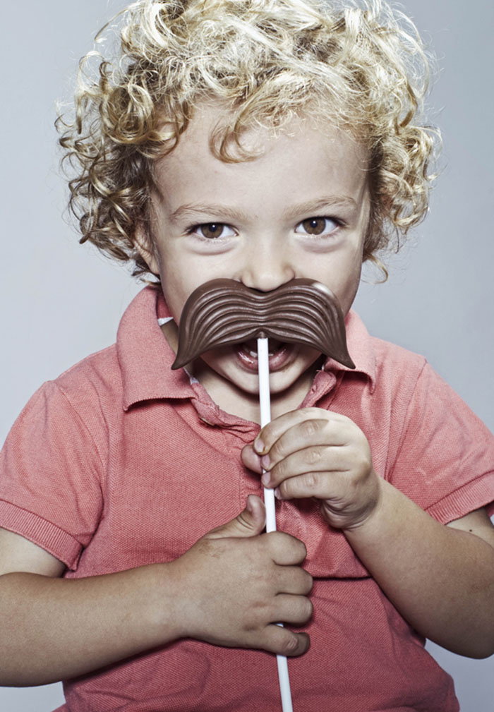 Chocolate Moustaches Stick