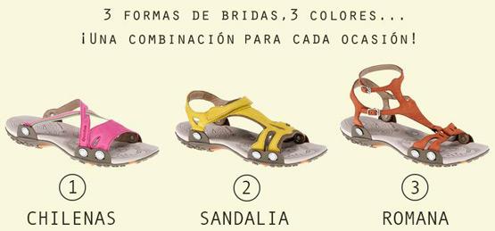 Sandalias transformables Quechua para mujer