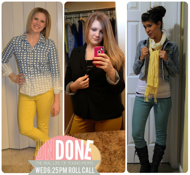 {The Undone Blog} Real Life Mom Fashion - 6:25 PM on a Wednesday