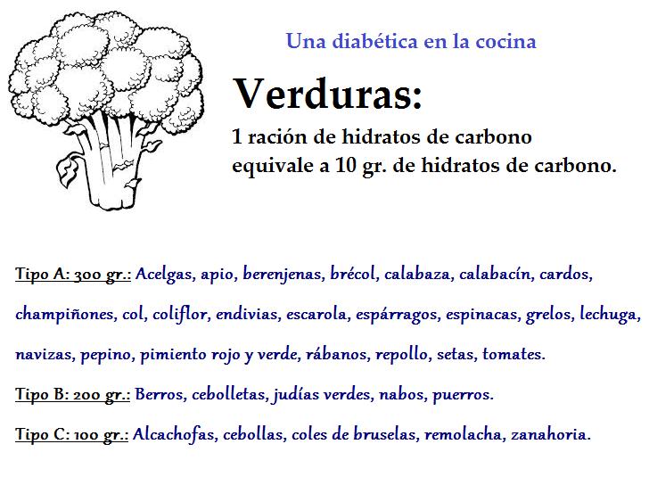 Una diab tica en la cocina tabla de alimentos ricos en hidratos de carbono - Alimentos hidratos de carbono tabla ...