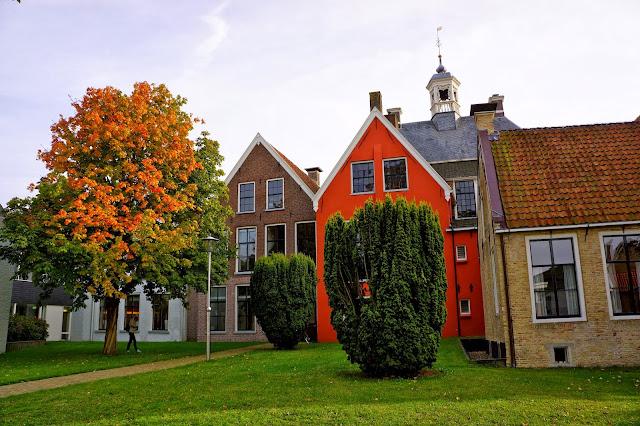 Autumn in Sneek, Friesland. The Netherlands.