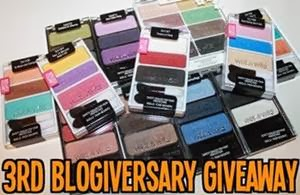 The Dark Side of Beauty 3rd Blogiversary Giveaway