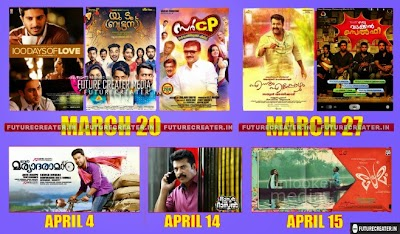 Upcoming Malayalam, Tamil Releases