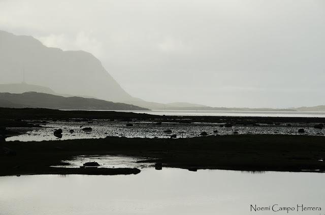 panoramica lofoten marea baja