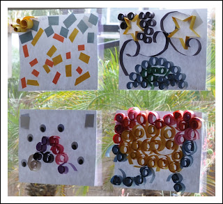 Homemaking fun summer art classes and show - Colored paper art projects ...