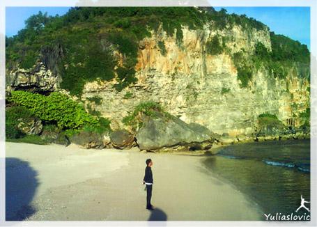 pantai pengilon gunungkidul