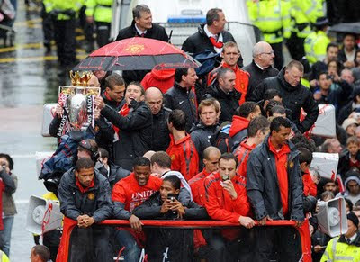 Manchester United Champions Barclays Premier League Parade Pictures
