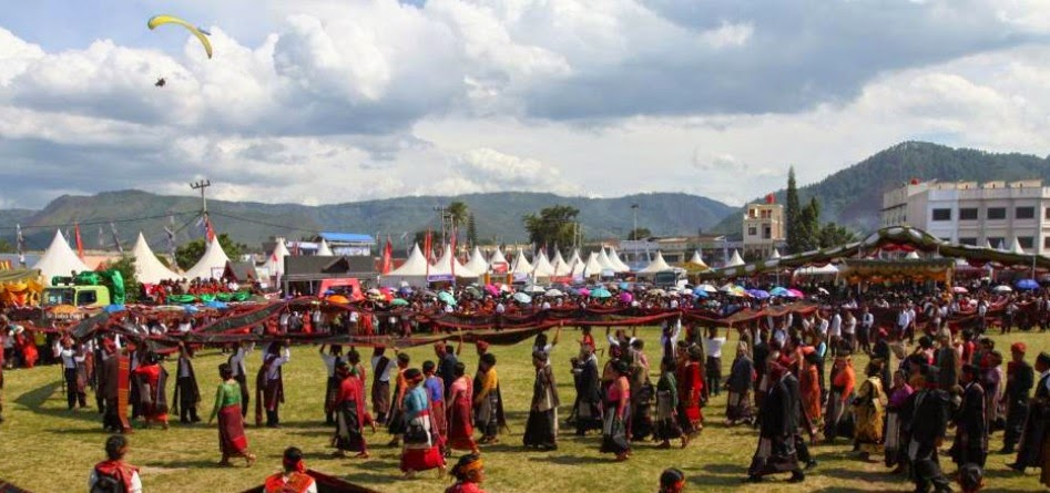 Let's Peek Lake Toba Festival (FDT) in 2014