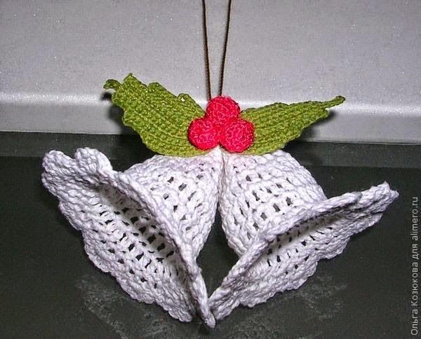 Campanitas adornos de navidad