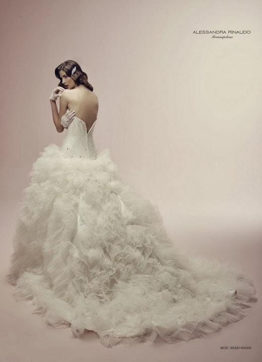 Alucinantes vestidos de novia | Colección Alessandra Rinaudo