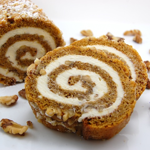 Remodelaholic | Pumpkin Roll and Recipe Link Up Party