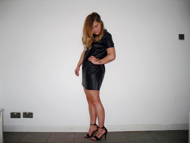 tan-talk ashleigh skinner ootd topshop leather christmas