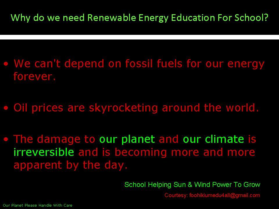 Why Use Solar Energy?