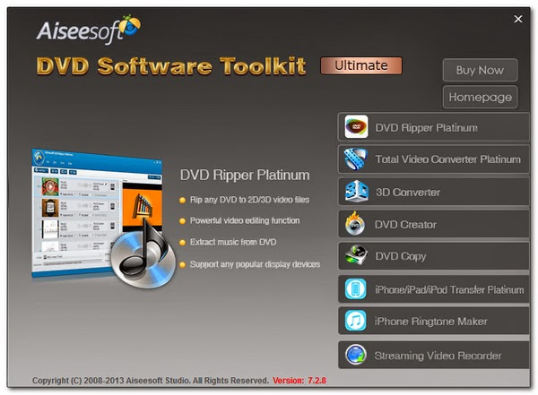 Download Aiseesoft Multimedia Software Toolkit 7.2.30 ...