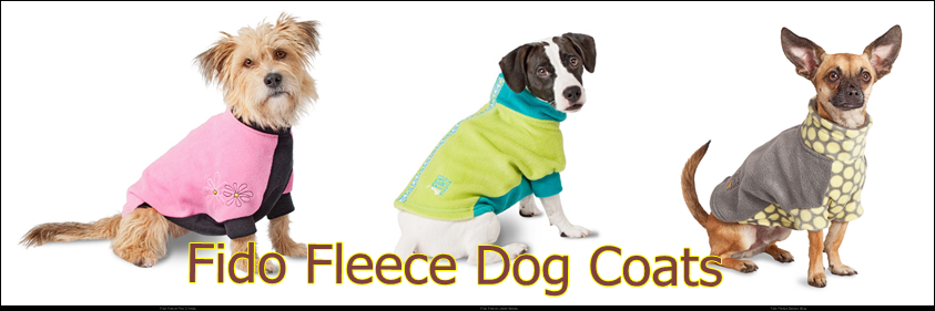 Warm Fleece dog coats