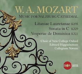 Mozart - Music for Salzburg Cathedral - New College, Oxford/Higginbottom - Novum 1388