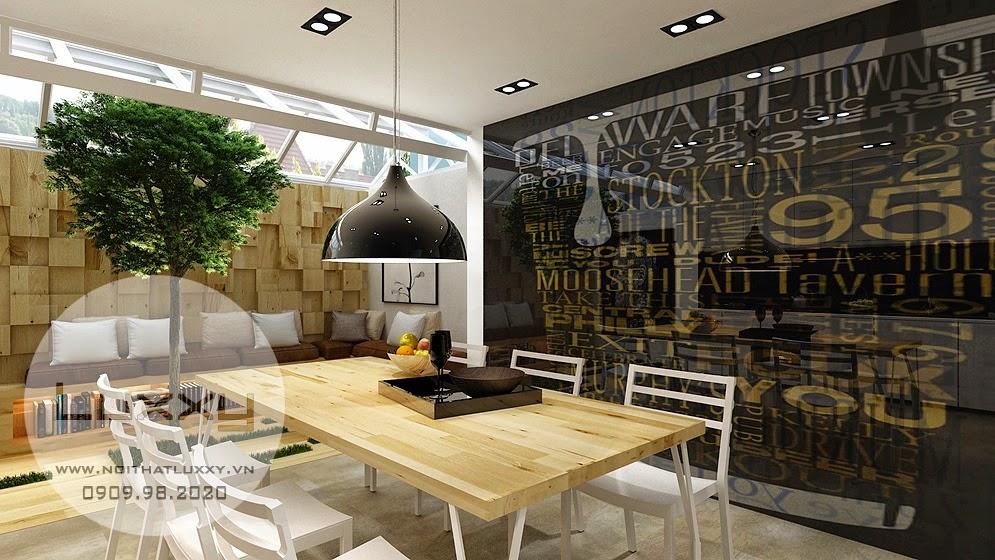 Thiết kế nội thất căn biệt thự