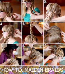 How to: MAIDEN BRAIDS??