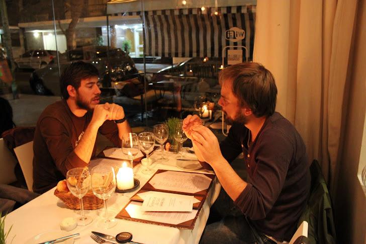 Andreas og Santiago