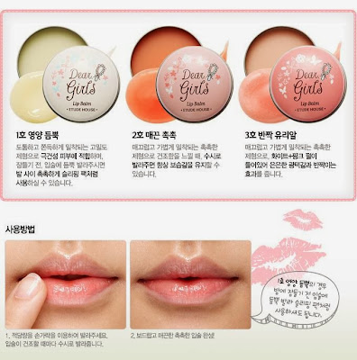 gradient lips, cara membuat gradient lips, lips korea, etude house, lips etude house, review, tips make up, chibis etude house korea, lip balm etude