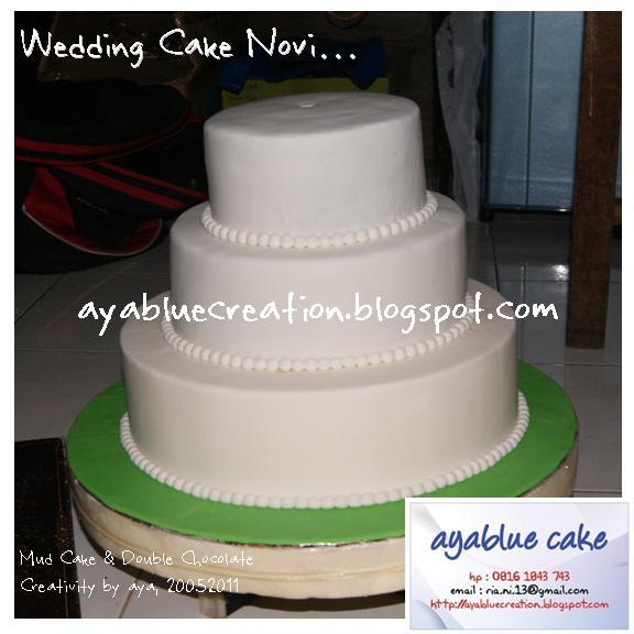 Just Try Do Wedding Cake For Mba Novi - Harga Dummy Wedding Cake