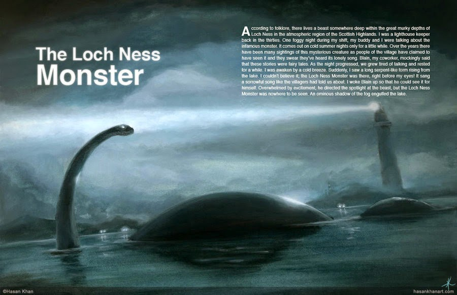 Scottish Man Captured An Evidence To The Loch Ness Monster's Existence